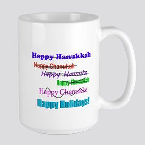Happy Holiday Large Mug