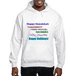 Happy Holiday Hooded Sweatshirt