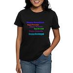 Happy Holiday Women's Dark T-Shirt