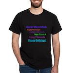 Happy Holiday Dark T-Shirt