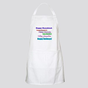 Happy Holiday Apron