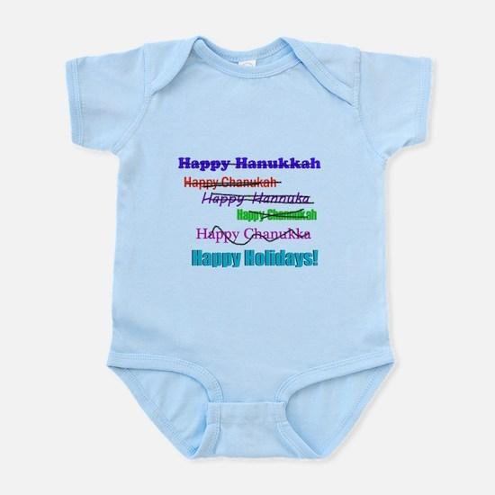 Happy Holiday Infant Bodysuit
