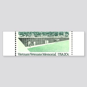 Veterans Stamp Bumper Sticker