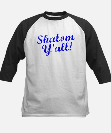 Shalom, Y'all! Kids Baseball Jersey