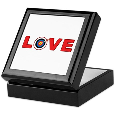 Archery Love 4 Keepsake Box