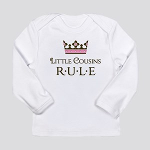 Little Cousins Rule Long Sleeve Infant T-Shirt