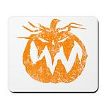 Grunge Pumpkin Mousepad