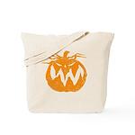 Grunge Pumpkin Tote Bag