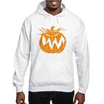 Grunge Pumpkin Hooded Sweatshirt