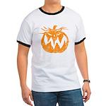 Grunge Pumpkin Ringer T
