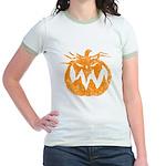 Grunge Pumpkin Jr. Ringer T-Shirt