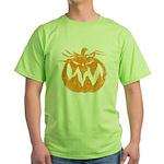 Grunge Pumpkin Green T-Shirt
