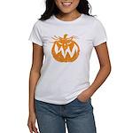 Grunge Pumpkin Women's T-Shirt