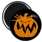 Grunge Pumpkin Magnet