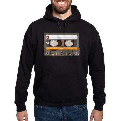 Bitchin' eEghties ('80s) Cassette Tape Hoodie (dar