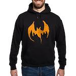 Grunge Bat Hoodie (dark)