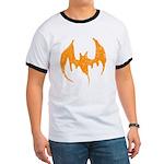 Grunge Bat Ringer T
