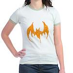 Grunge Bat Jr. Ringer T-Shirt