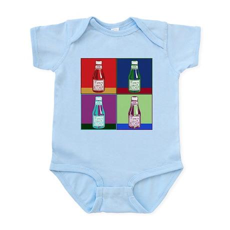 Pop Art Ketchup Infant Bodysuit