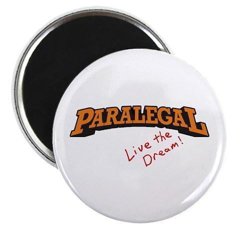 "Paralegal / Live 2.25"" Magnet (10 pack)"