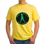 Don't Touch My Junk Yellow T-Shirt