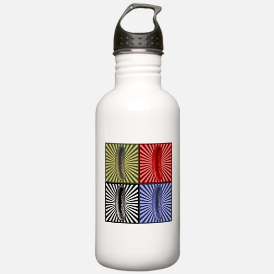 Pop Art Pickle Water Bottle