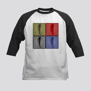 Pop Art Pickle Kids Baseball Jersey