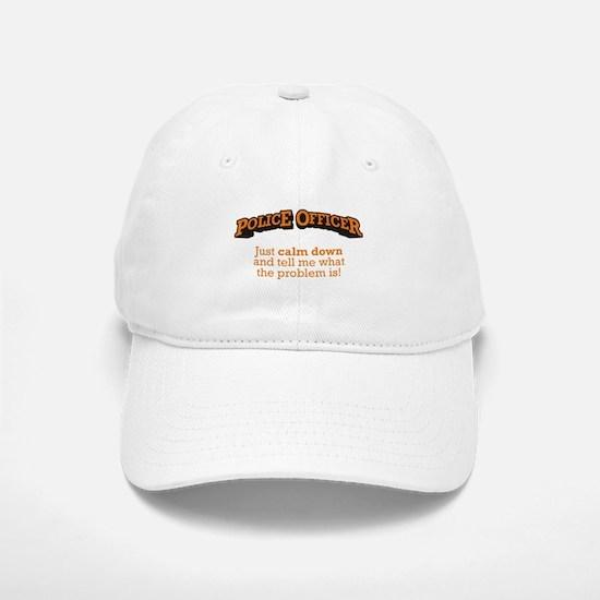 Police / Calm Baseball Baseball Cap