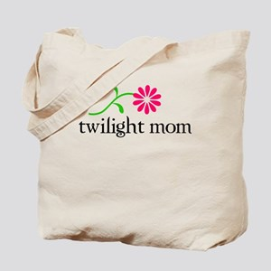 Twilight Flower Mom Tote Bag