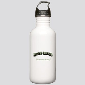 Police Officer / Sleep Stainless Water Bottle 1.0L