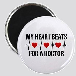 My Heart Beats For A Doctor Magnet