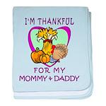 Thanksgiving Kids baby blanket