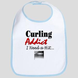 Curling Addict (Hit) Bib