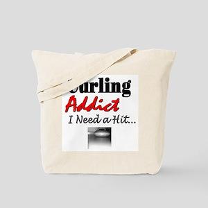 Curling Addict (Hit) Tote Bag