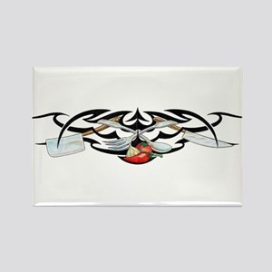 Chef Design Rectangle Magnet