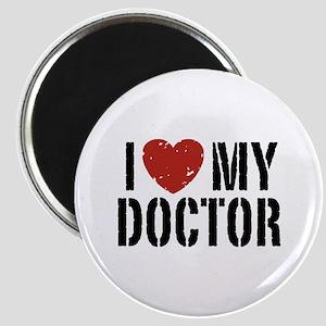 I Love My Doctor Magnet