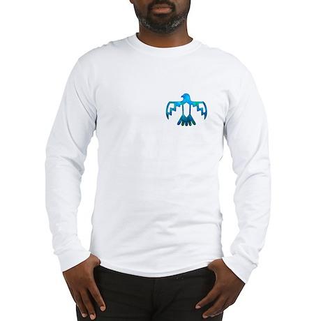 Blue-Green Thunderbird Long Sleeve T-Shirt