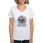 New TSA Logo Women's V-Neck T-Shirt