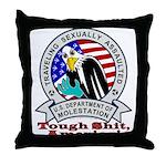 New TSA Logo Throw Pillow