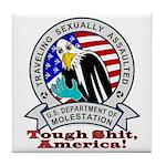 New TSA Logo Tile Coaster