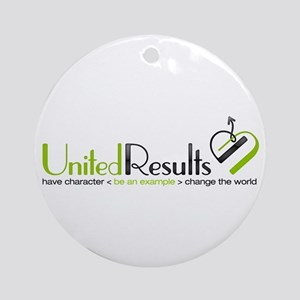 United Results Ornament (Round)