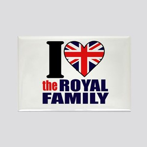 Royal Family Rectangle Magnet