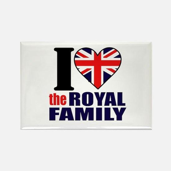 Royal Family Rectangle Magnet