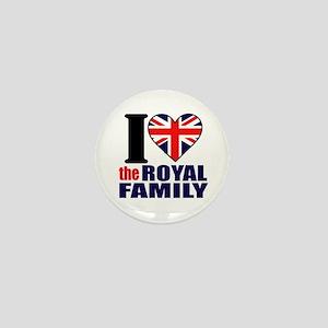 British Royal Family Mini Button