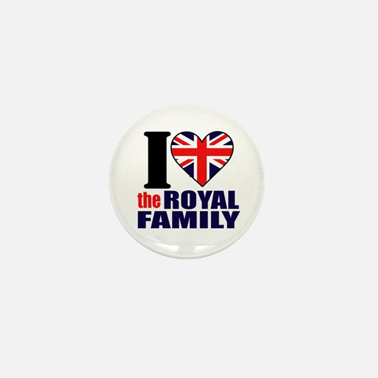British Royal Family Mini Button