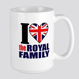 British Royal Family Large Mug