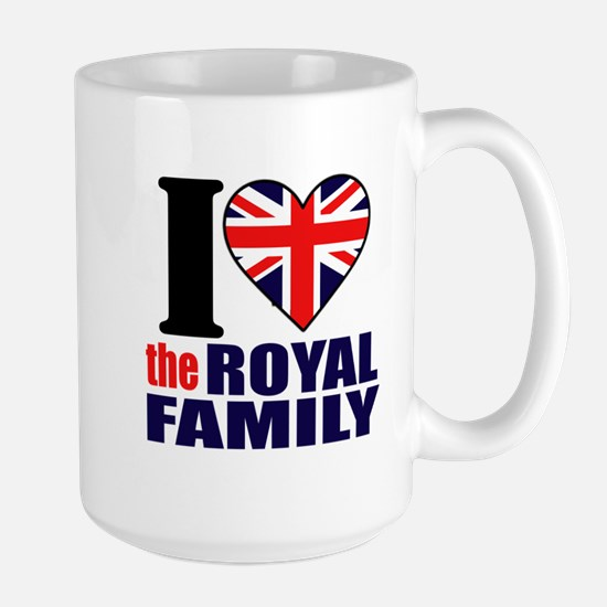 British Royal Family Large Mug