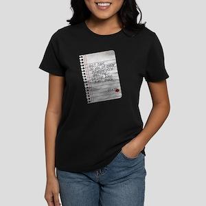 Dexter Lumen Shopping List Women's Dark T-Shirt
