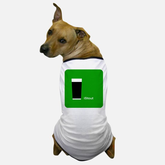 iStout Green Dog T-Shirt