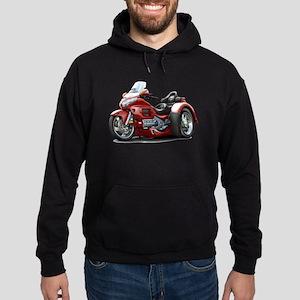 Goldwing Maroon Trike Hoodie (dark)